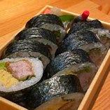 もみじ豚のカツ巻き寿司