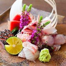 お造り7種盛り 7 kinds of Assorted Sashimi