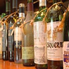 スペイン・イタリア産の中心のワイン