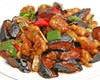 茄子と豚肉辛味炒め定食