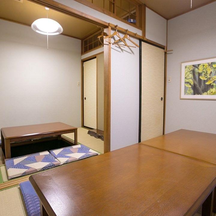 貸切宴会に最適なお座敷個室を完備。