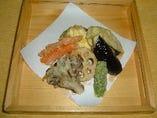 季節のお野菜 天ぷら盛合せ