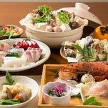 選べるお鍋の旬鮮料理3,000円コース☆