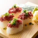 ねぎとろ握り寿司