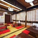 日本の風情を感じる落ち着きある和空間でご会食