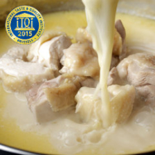 香鶏の濃厚白濁鍋