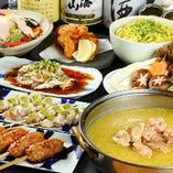 銘柄鶏香鶏を心ゆくまで堪能『定番鍋コース』がおすすめ。