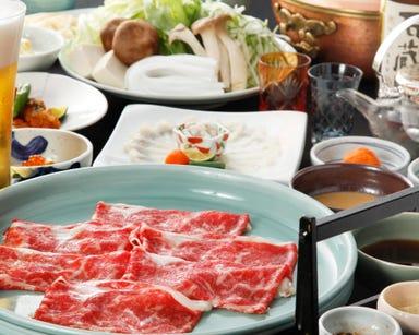 日本料理 あづま 白山総本店 コースの画像