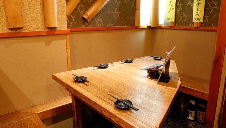 テーブル席・1名様~8名様