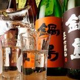 日本酒好きの方は月曜日がお得!提供している全ての日本酒の、二合とっくりがなんと半額に