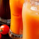 女性に人気!ブルーベリーやクランベリー、アロエなどフレッシュ野菜や果物を使った「フルーツハイ」