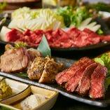 肉料理をメインとした創作和食コースは飲み放題付き3500円~♪