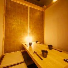 【個室】最大30名様迄の個室をご用意!シンプルモダンな空間でご宴会を