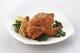 若鶏の唐揚げ 半身¥850 一羽¥1600 実際は食べやすく切ります