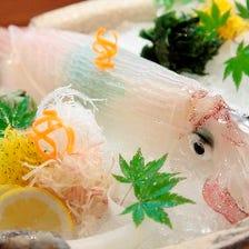 活き造りメインコース【風】〈全8品〉接待・宴会・記念日