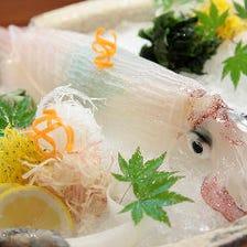 地元九州からの食材を堪能