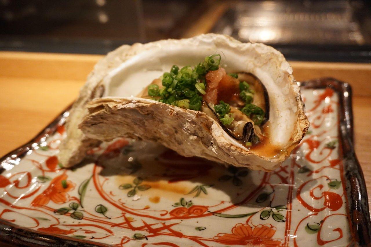 【絶品】焼き牡蠣が楽しめます。