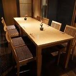 【各種宴会に人気】テーブル席(2名様~12名様)