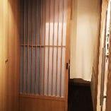 ゆったりできる個室でプライベートな空間もご提供。