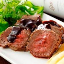 蝦夷鹿肉など高級食材厳選使用!