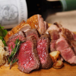 北海道の肉皿 三種盛り