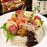 赤字覚悟!寿司ケーキ