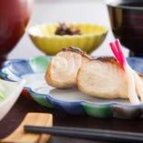 ランチ焼き魚定食