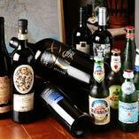 メッシーナやナストロアズーロなどイタリア産ビールあります♪