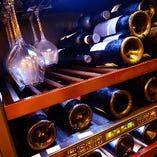 ワインセラーで保管しています
