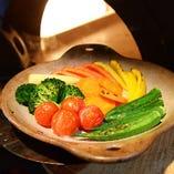 窯焼きハーニャカウダはコースのみの限定料理