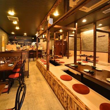 かごしま黒豚と九州料理 黒豚屋 ぶん福ちゃがま 店内の画像