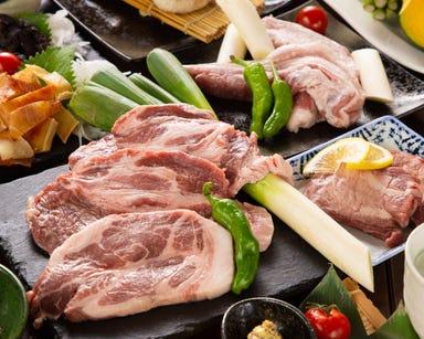 かごしま黒豚と九州料理 黒豚屋 ぶん福ちゃがま メニューの画像