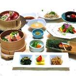 黒豚と野菜のせいろ蒸し付きコース 「華陽(かよう)」