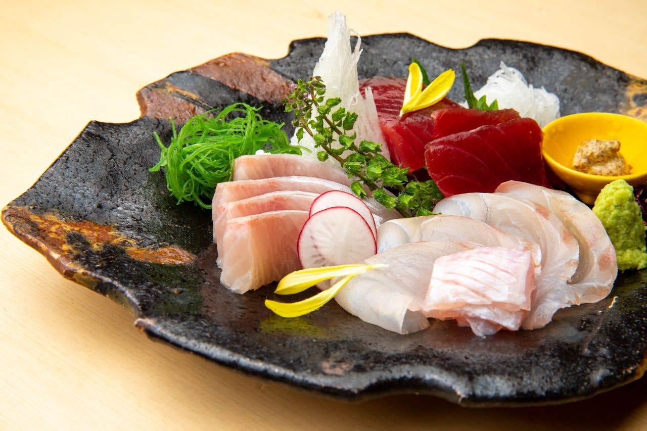 ■旬の天然魚介が楽しめる◎