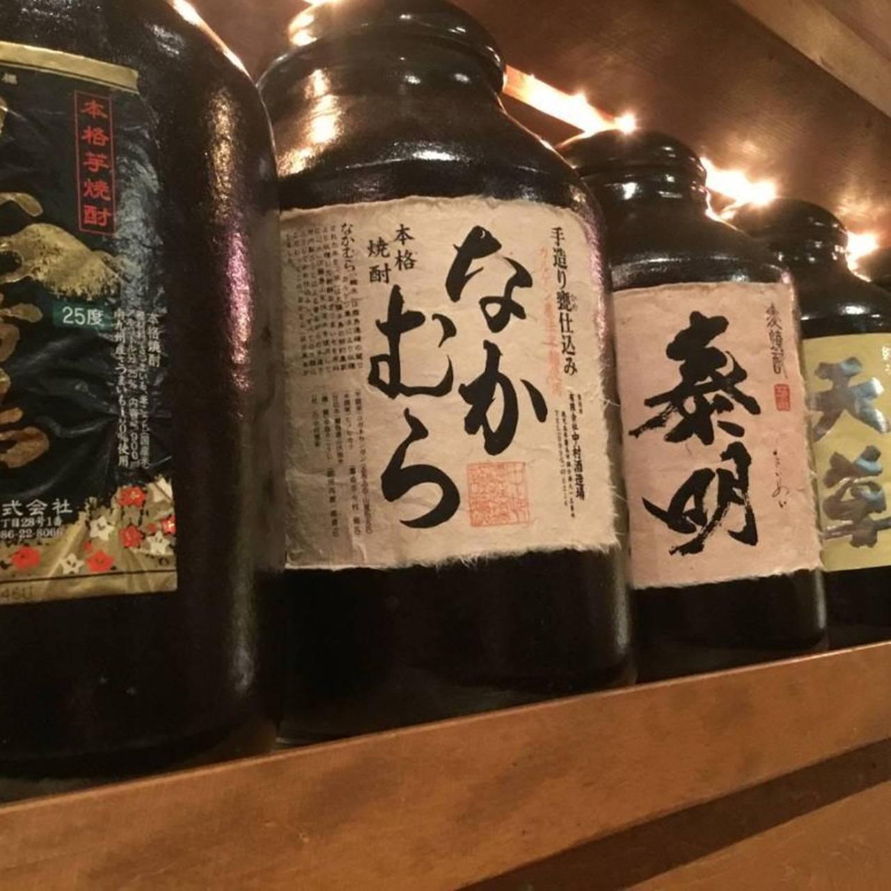 本格焼酎とワインは12種類常備!