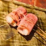 トッポギチーズの明太串
