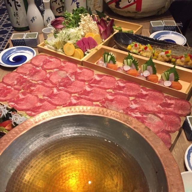 宴会コースは5500円~ご準備しております!大人気の為予約必須