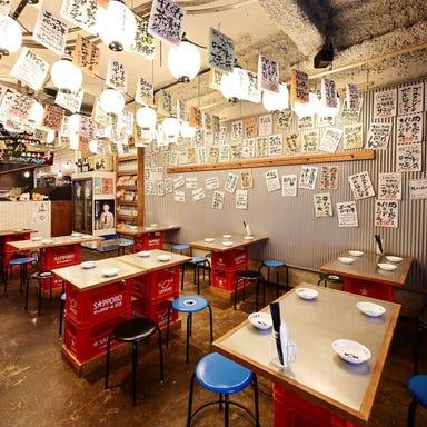 肉とフレンチ串 ネオビストロ 大衆ロッシーニ 栄伏見店 店内の画像