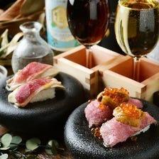 絶品!フォアグラ&肉寿司