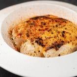魚介の西京味噌チーズグラタン