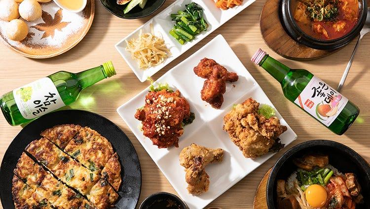 こだわりの手作り韓国料理