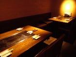 8~12名様対応の個室の テーブル席もあります☆