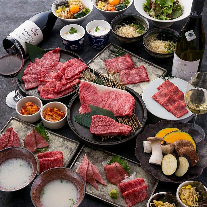 個室空間で楽しむ厳選大和牛の焼肉