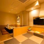 <キッズスペース> ご家族でお食事やママ会に最適な個室