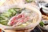 豚火門 三大料理 銘柄豚しゃぶしゃぶ鍋