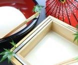 京都銀ゆば特性の豆腐に、ゆば。 身体に優しいですね。