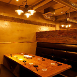 3階 両側ソファのBOXテーブル席【8名様まで】