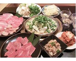 もつ鍋&焼肉コース 3,000円