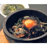 石焼ビビンバ 780円 ご飯もの当店人気NO.1です