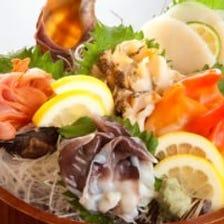 貝類刺盛 (1人前~ご用意出来ます♪)※お値段などはご相談下さい。